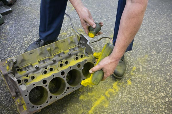 how to clean engine block at home
