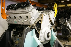 new-automobile-engine-stock-front-side-view
