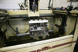 close-shot-engine-block-in-sunnen-hone-machine