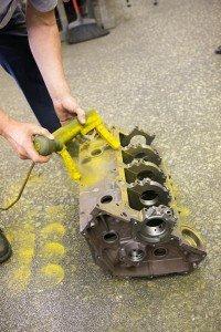 gas-engine-block-undergoing-magnaflux-inspection